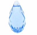 Aquamarine Swarovski 6010 13x6.5mm Top Drilled Briolette