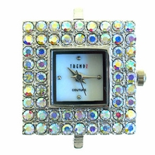 Square Crystal AB Austrian Crystal Watch Face