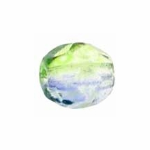 4mm Blueberry/Green Tea Czech Fire PolishRound Glass Beads (50PK)