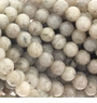 Grey Feldspar Gemstone Beads