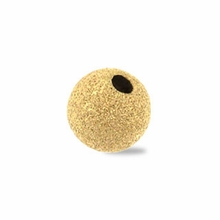 5mm Gold Filled Stardust Beads (10PK)