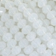 Majestic Crystal® Snow White AB 3x4mm 32-Facet Crystal Rondelle Beads (50PK)