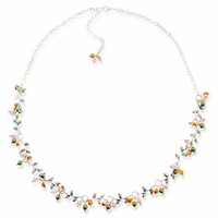 Enchanted Garden Necklace Design Idea