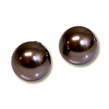4mm Deep Brown Swarovski 5810 Crystal Pearls (50PK)