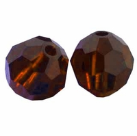Mocca 8mm Swarovski 5000 Round Crystal Beads (1PC)