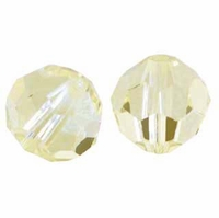 Sand Opal 8mm Swarovski 5000 Round Crystal Beads (1PC)