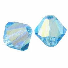 Aquamarine AB 5301 Discontinued Swarovski 6mm (10PK)
