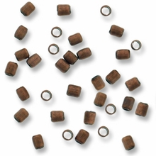 Antique Copper Plated 2x2 Crimp Beads (20PK)