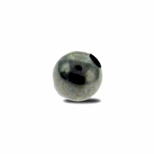 Gun Metal Plated 4mm Round Beads (50PK)