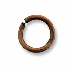Antique Copper Plated 6mm Open Jump Rings (20PK)