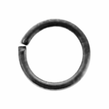 Gun Metal Plated 6mm Open Jump Rings (20PK)