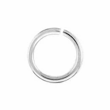 Silver Plated 6mm Open Jump Rings (25PK)