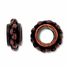 Antique Copper Plated Fancy Spacer Beads (10PK)
