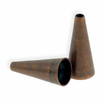 Antique Copper Plated Small12mm Cones (4PK)