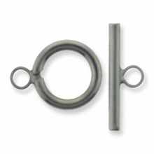 Gun Metal Plated Small Toggle (1PC)