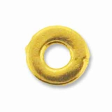 5mm Antique Gold Kenyan Heishi Spacer (10PK)