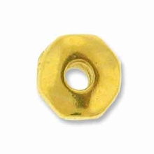 5mm Antique Gold Nugget Heishi Spacer (10PK)