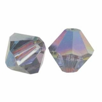 Vitrail Medium 5328 6mm Swarovski Crystal XILION Bicones Beads (10PK)