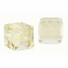 Sand Opal 5601 Swarovski 6mm Cube Bead (1PC)