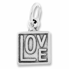 Love in a Square Charm