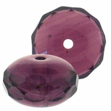 Gemstone Donut 7/5mm Amethyst (12PK)