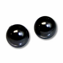 6mm Mystic Black Swarovski 5810 Crystal Pearls (50PK)