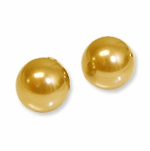 8mm Bright Gold Swarovski 5810 Crystal Pearls (50PK)