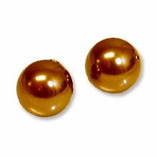 8mm Copper Swarovski 5810 Crystal Pearls (50PK)