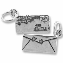 Small Love Letter Charm