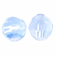 Air Blue Opal 8mm Swarovski 5000 Round Crystal Beads (1PC)