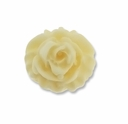 Ivory Rose 20x20mm Synthetic Cabochon (5PK)