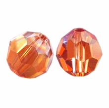 Red Magna Swarovski 5000 6mm Crystal Beads (10PK)