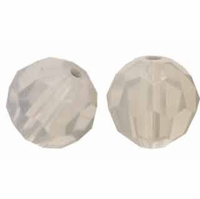 Light Grey Opal 8mm Swarovski 5000 Round Crystal Beads (1PC)