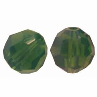 Palace Green Opal 8mm Swarovski 5000 Round Crystal Beads (1PC)