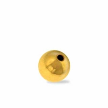 GF 4mm Seamless Round w/1.5mm hole Beads (10PK)