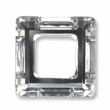 14mm Swarovski Square Ring 4439 Crystal CAL V SI