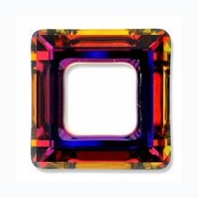 14mm Swarovski Square Ring 4439 Crystal Volcano