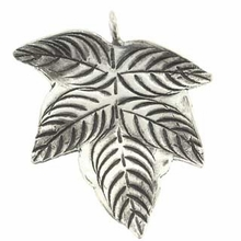 Thai Large 31mm Leaf Pendant (1pc)