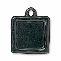 Black Finish Simple Square Frame