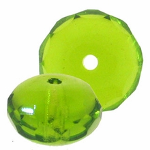 Olivine Gemstone Donut 11/7 mm (12PK)