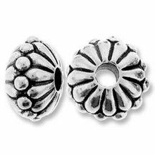 Antique Silver 10mm Joy LH Bead