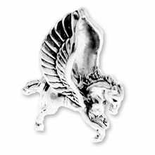 Sterling Silver Pegasus Sterling Silver Charm