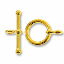 Gold Plated Mini Toggle (1PC)