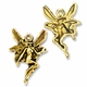 Antiqued Gold Fairy Charm (1PC)
