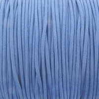 Lt. Blue 1mm Waxed Cotton Craft Cord (1YD)