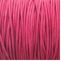 Hot Pink 1mm Waxed Cotton Craft Cord (1YD)