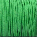 Kelly Green 1mm Waxed Cotton Craft Cord (1YD)