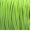 Lime Green 1mm Waxed Cotton Craft Cord (1YD)