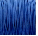 Blue 1mm Waxed Cotton Craft Cord (1YD)