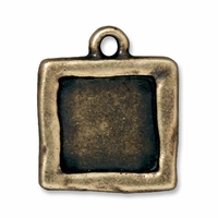 Brass Oxide Simple Square Frame